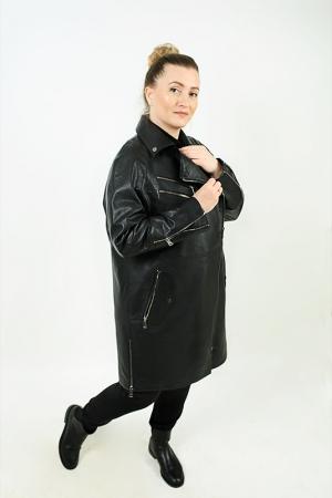 Удлиненная куртка over-size